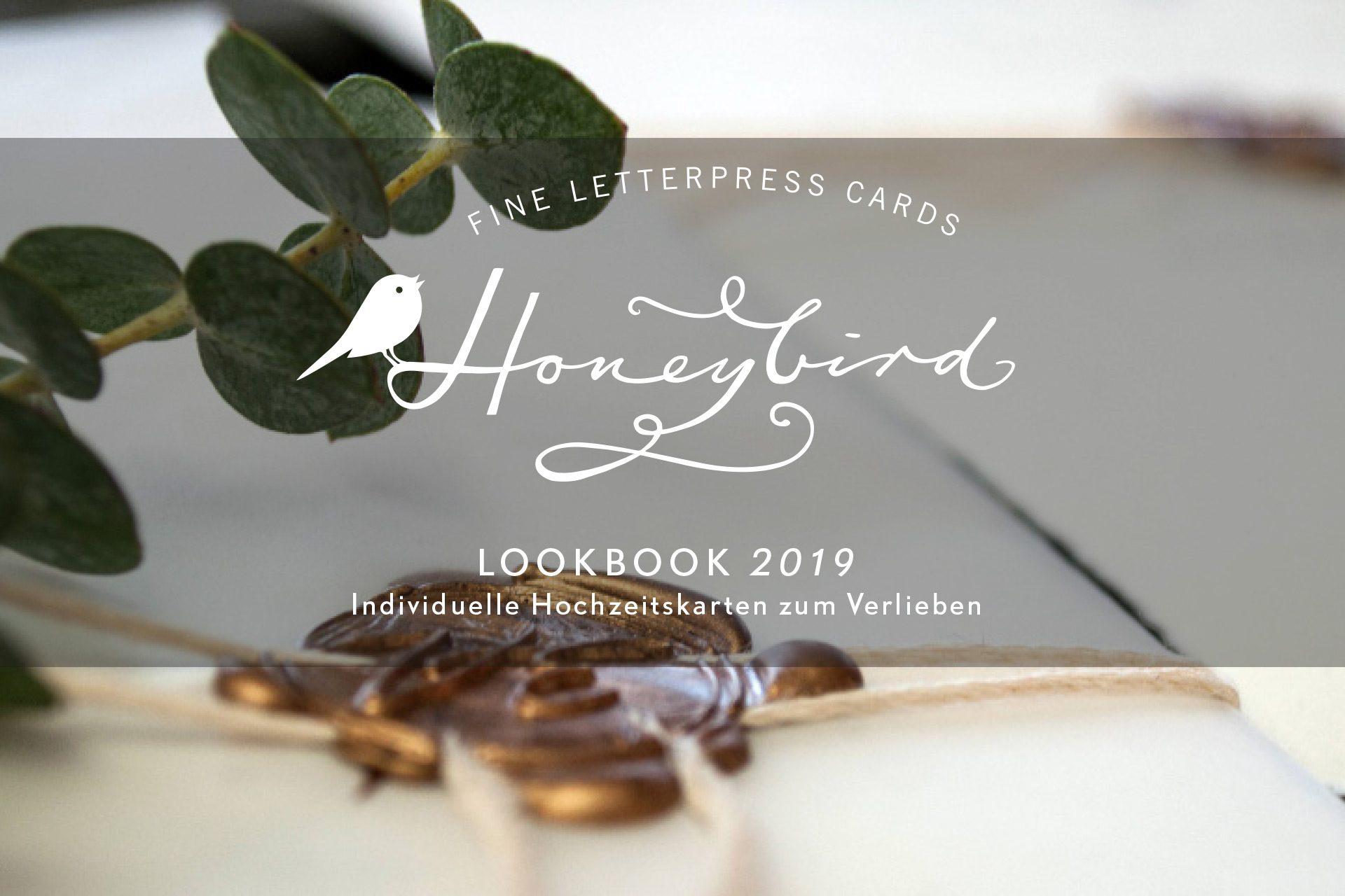 Lookbook zu Hochzeitskarten von Honeybird.