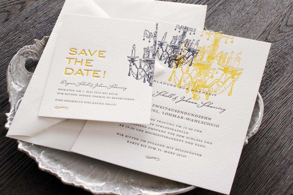 Eine Hochzeit auf dem Schloss Sanssouci mit Letterpresskarten von HONEYBIRD fine letterpress Cards