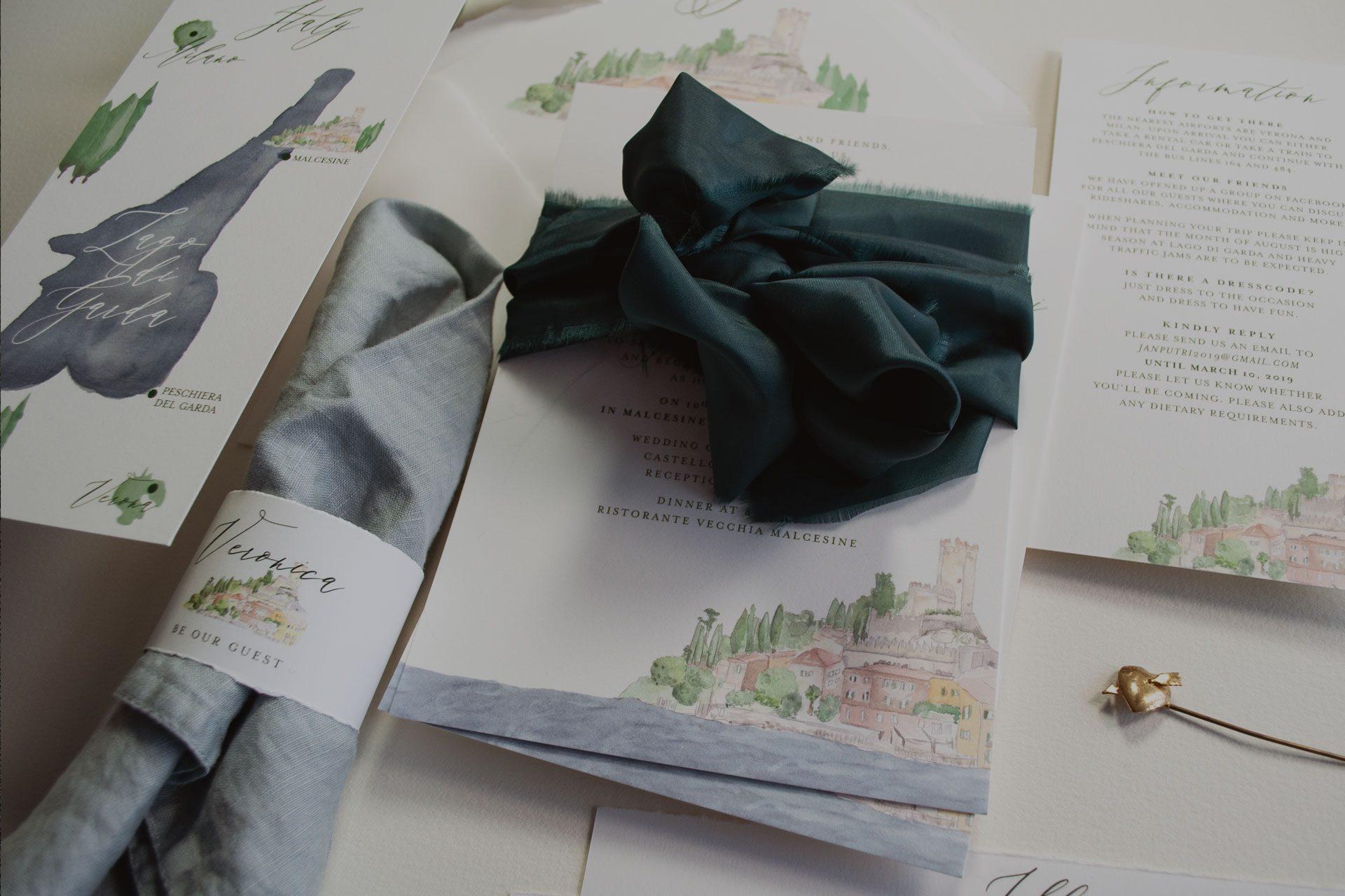 Honeybird Letterpress Hochzeit