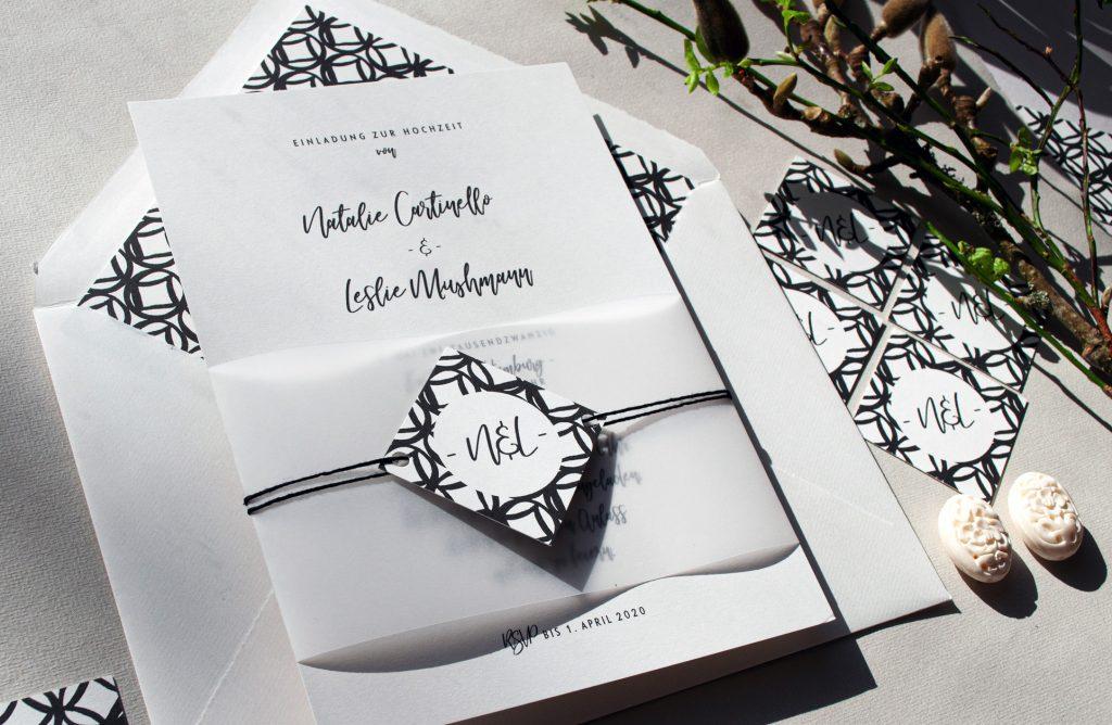 Monterey Contemporary Invitations By HONEYBIRD - modern design.