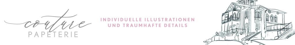 Couture Papeterie,  individuelle Gestaltung für  Hochzeitskarten